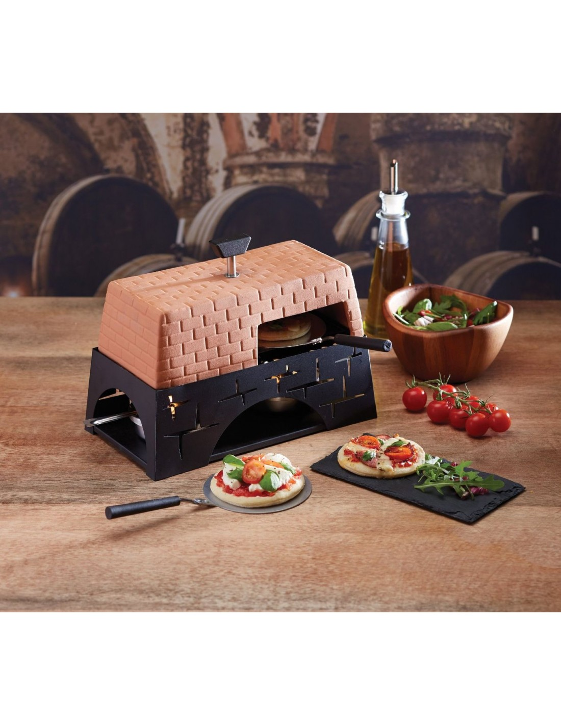 Mont Alpi Table Top Pizza Oven Tional You