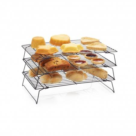 Kitchen Craft Non-Stick Three Tier Cooling Rack - Mimocook