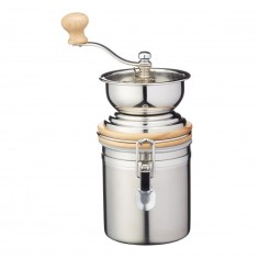 Kitchen Craft Le Xpress Stainless Steel Traditional Coffee Grinder