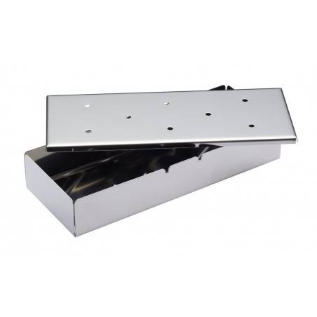 Kitchen Craft Home Made Stainless Steel Smoking Box - Mimocook