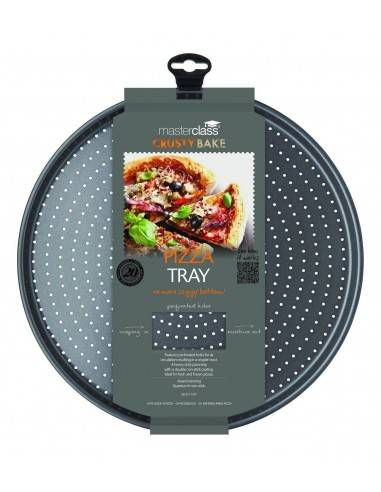 Kitchen Craft Master Class Crusty Bake Non-Stick Pizza Tray - Mimocook