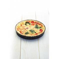 Kitchen Craft Master Class Crusty Bake Non-stick Fluted Round Quiche Tin - Mimocook