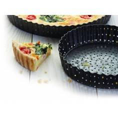 Kitchen Craft Master Class Crusty Bake Non-stick Fluted Round Quiche Tin