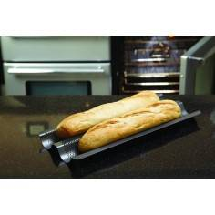 Molde perfurado para baguettes Master Class Kitchen Craft