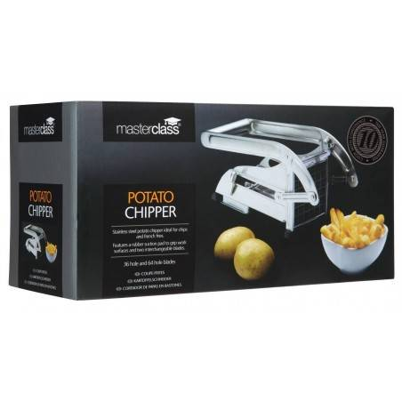 Kitchen Craft Master Class Stainless Steel Potato Chipper - Mimocook