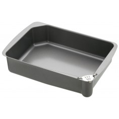Kitchen Craft Master Class Non-Stick Roasting Pan with Pouring Lip
