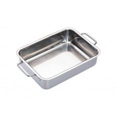 Kitchen Craft Master Class Stainless Steel Heavy Duty Roasting Pan