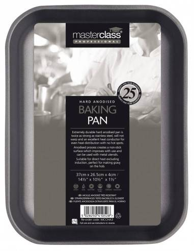 Kitchen Craft Master Class Professional Non-Stick Hard Anodised Baking Pan - Mimocook