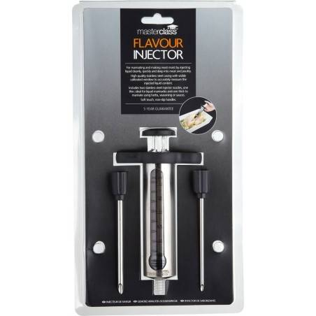 Injector de molhos em inox Master Class Kitchen Craft - Mimocook