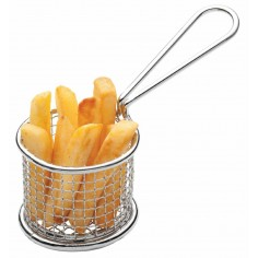 Kitchen Craft Master Class Stainless Steel Mini 8.5cm Frying Basket