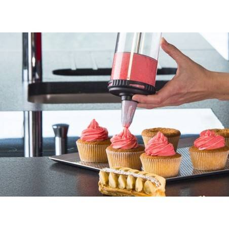 De Buyer Le Tube pressure pastry syringe - Mimocook