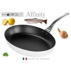 De Buyer Affinity oval non-stick fish frypan