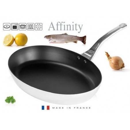 Frigideira oval inox antiaderente Affinity da De Buyer - Mimocook