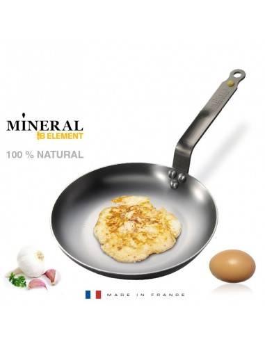 Frigideira para omeletes Mineral B Element da De Buyer - Mimocook