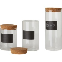 Kitchen Craft Natural Elements Glass Storage Canister