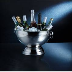 Kitchen Craft Bar Craft Hammered Stainless Steel Champagne Bowl