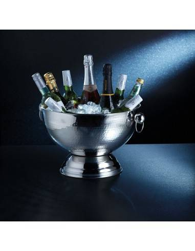 Kitchen Craft Bar Craft Hammered Stainless Steel Champagne Bowl - Mimocook