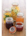 Home Made Glass 500ml Preserving Jar Kitchen Craft