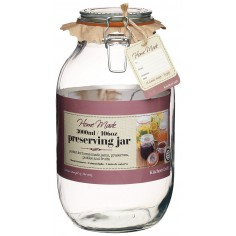 Home Made Glass 3000ml Preserving Jar Kitchen Craft