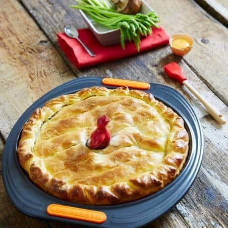 Le Creuset Toughened Non-Stick Bakeware Quiche  Tin - 28 cm - Mimocook