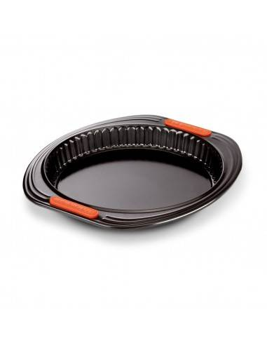 Le Creuset Toughened Non-Stick Bakeware Quiche Tin - 28 cm