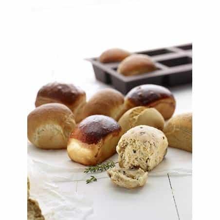 Lékué 6 mini bread mould - Mimocook