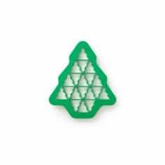 Bolachas puzzle árvore de natal Lékué