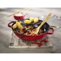 Staub Wok 30 cm Cast Iron - Mimocook