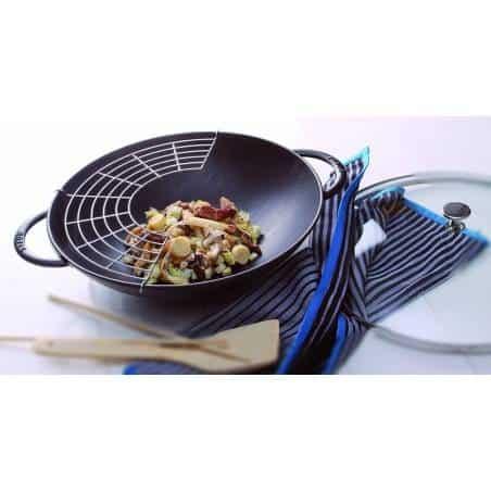 Staub Wok 37 cm Cast Iron - Mimocook