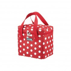 Kitchen Craft Coolmovers Tall Red Polka Lunch Snack Cool Bag