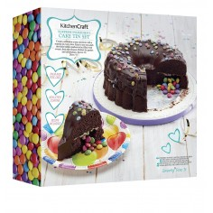 Kitchen Craft Sweetly Does It Surprise Filling Cake Tin