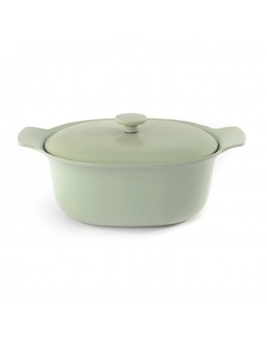 Berghoff oval 28cm covered stockpot cast iron
