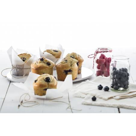 Forma para 6 muffins em silicone Lékué - Mimocook