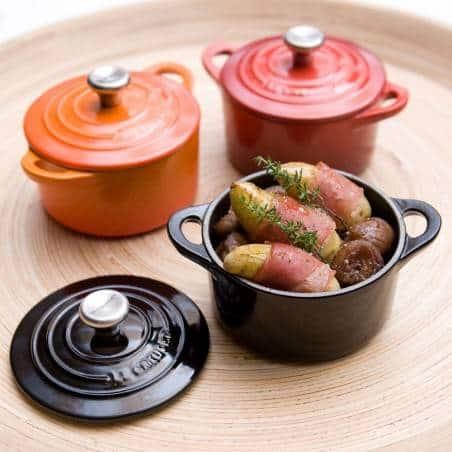 Le Creuset Cocotte Cast Iron Round Casserole 10cm - Mimocook