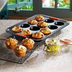 Le Creuset Toughened Non-Stick Bakeware 12 Cup Muffin Tray