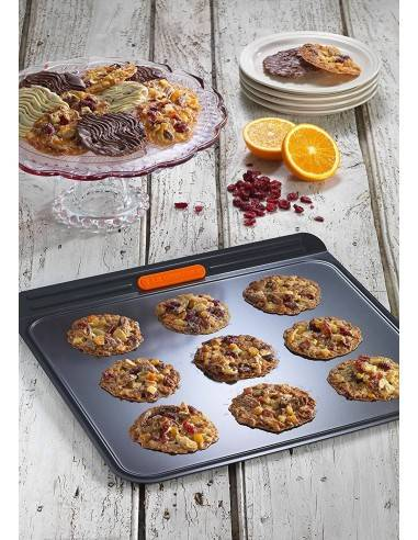 Le Creuset Toughened Non-Stick Bakeware Insulated Cookie Tray - 38 cm - Mimocook