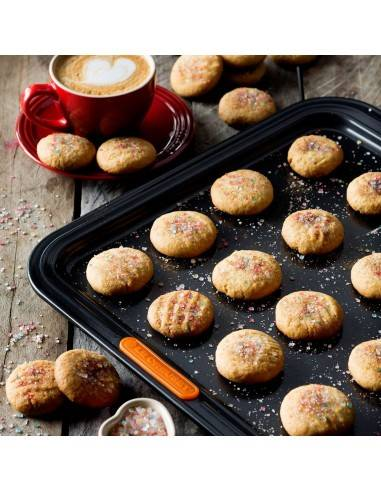 Le Creuset 31 Rectangular Baking Tray Black 36.5 cm - Mimocook