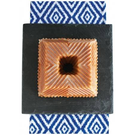 Forma Bundt quadrada da Nordic Ware - Mimocook