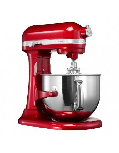 KitchenAid Artisan 6,9L Red Mixer