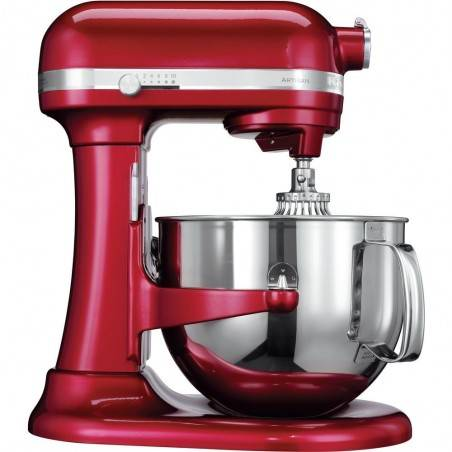 KitchenAid Artisan 6,9L candy apple Mixer - Mimocook