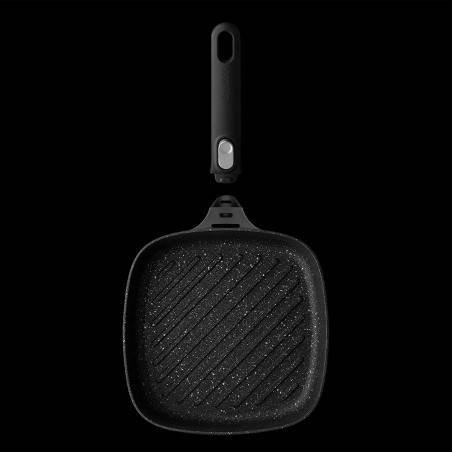 BergHOFF Gem Non-Stick Grill Pan with Removable Handle - Mimocook