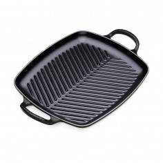 Le Creuset 30cm Signature Cast Iron Rectangular Grill