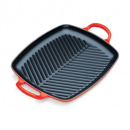 Le Creuset 30cm Signature Cast Iron Rectangular Grill - Mimocook