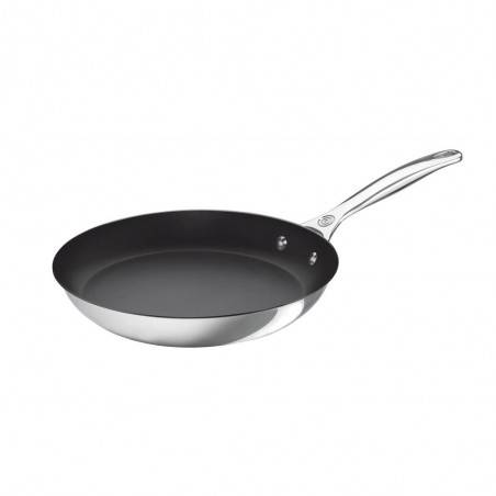 Le Creuset 3-ply Stainless Steel Non-Stick Frying Pan - Mimocook