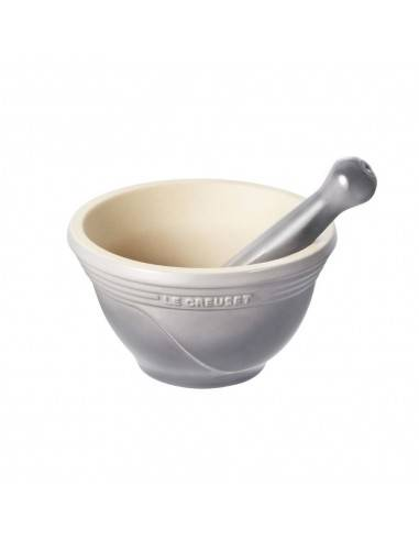 Le Creuset stoneware Mortar with Pestle Cherry - Mimocook
