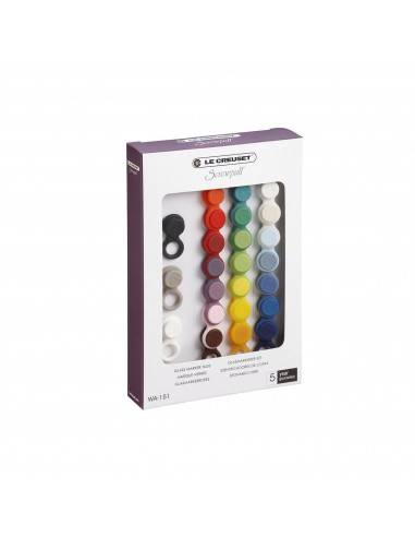Le Creuset Brand Set of 24 markers