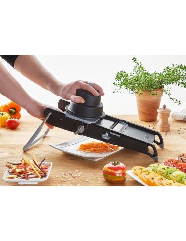 De Buyer Mandoline Swing Plus Double Blade and Pusher - Mimocook
