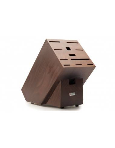 Wusthof beech wood Knife block for 12 pieces - Mimocook