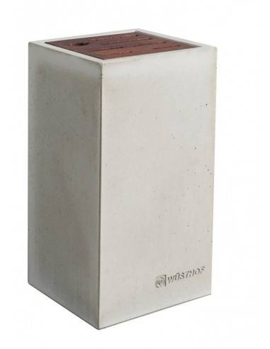 Wusthof Concrete Empty Knife Block