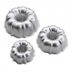 Conjunto de 3 formas Tiered Bundt da Nordic Ware - Mimocook
